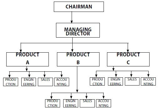 Product/ Market Departmentation - Organisation Structure And Design